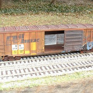 BN 249241 (EX-RBOX) ACF box car