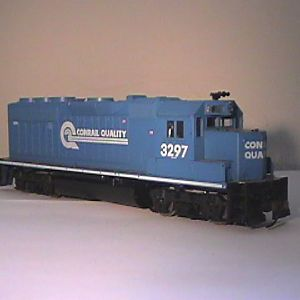 Unfinished, Yet Beautiful, Conrail GP40-2......