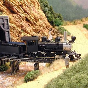 Narrow Gauge Mogul on Stream