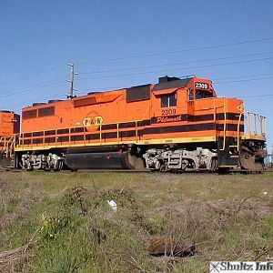 Portland & Western RR 2309 - the Philomath