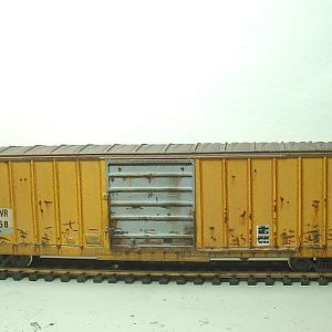 MrKLUKE car#139 GNWR box car KITBASHING project