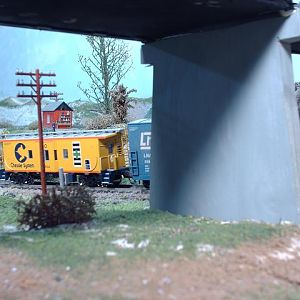 B&O Chessie Sys. bay window caboose