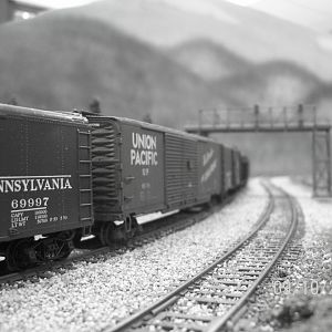 A shot from the 50's era on the PRR