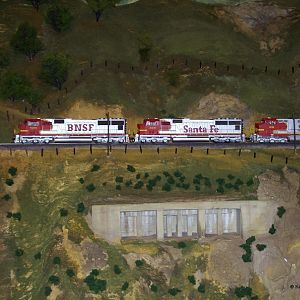 BNSF on Tehachapi