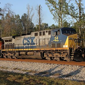Southbound on the CSX