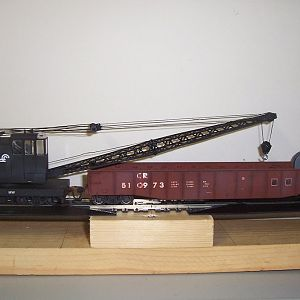 Conrail Transition Era American Crane and Tender Gon