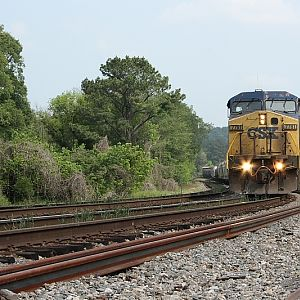 CSX at Black Creek