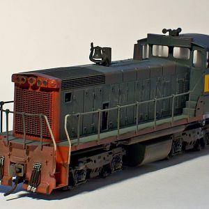Model Photography - Athearn SW1500
