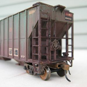 Weathered RFMX / CR / PC Covered Hopper
