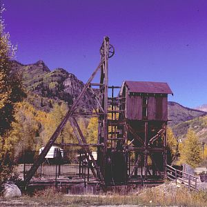 Mine Lift - Rico, Colorado
