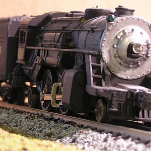 1959 Lionel Scout 2-4-2 Locomotive