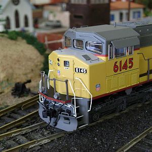 SD60M UP-6145-Model Railroad Brazil
