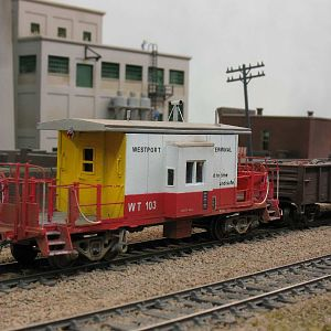 new caboose for Westport Terminal RR