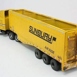 Sunbury wood chip truck