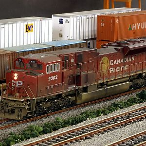 Model of CP SD90MAC-H-II 9302