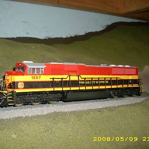 kcs belle sd70mac left side