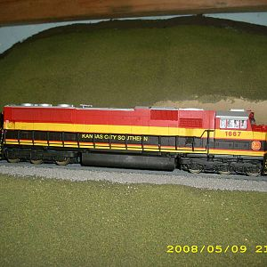 kcs custom kato sd70mac