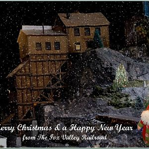 Merry Christmas from the Fox Valley Railroad