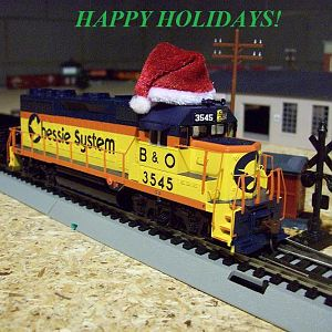 Happy Holidays from the Ohio & Southeastern Lines