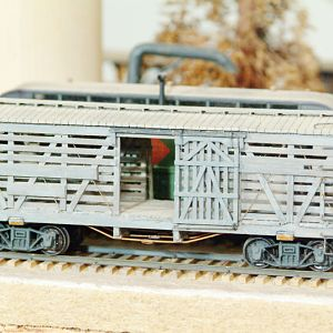 D&RGW - Std Guage Scratch built Cattle Car