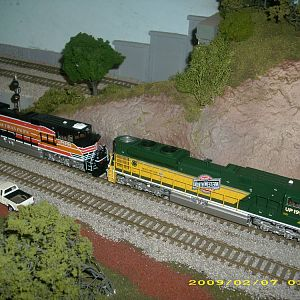 cnw sp heritage sd70aces