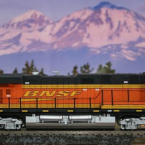 1st completed project in a long time: BNSF 7695
