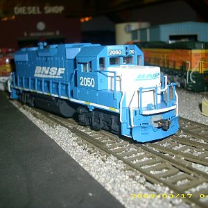 bnsf 2050 blue wedge front