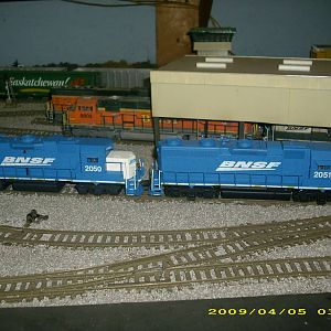 bnsf 2050 and 2051