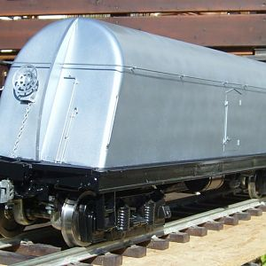 Borden's milk tank car #1