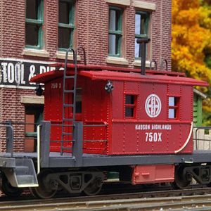 Hudson Highlands Transfer Caboose