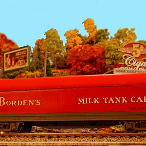 Bordens Milk Tank Car