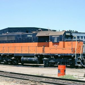 Milwaukee Road SDL39