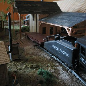 HO Scale 40's era sawmill project
