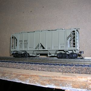 NC&StL cement hopper #49040