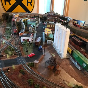 My layout Frog Hollow